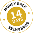 No Risk 100% Money Back Guarantee