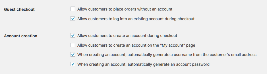 Auto Signup Customer On Checkout