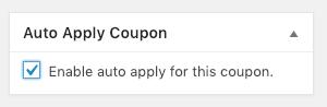 Auto Apply WooCommerce Coupon
