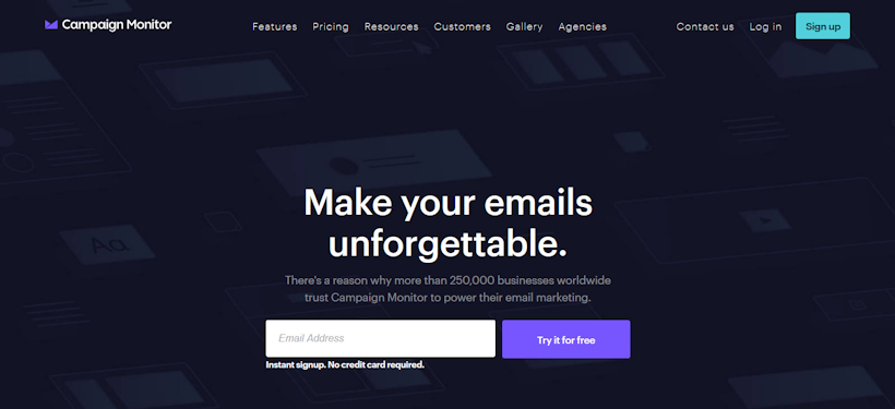 email tools campaign monitor