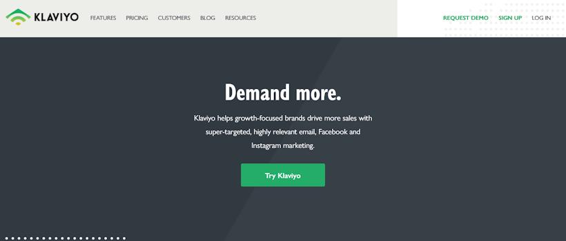 email tools klaviyo