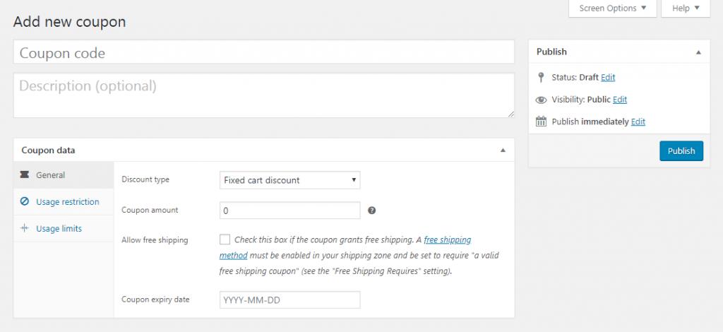 Customizing WooCommerce coupon code.