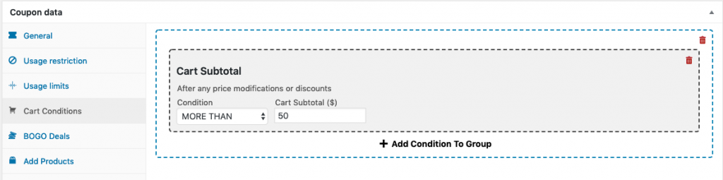 WooCommerce Free Product With Purchase Step 5