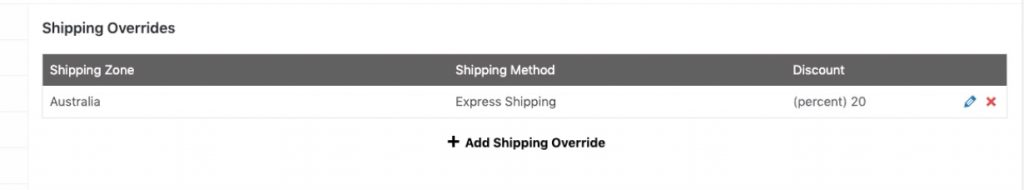 WooCommerce Coupon Shipping Discount - Set the discount amount
