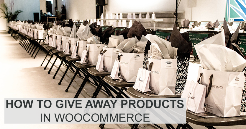 How to Give Away Products in WooCommerce