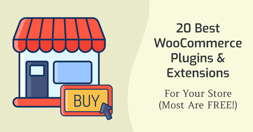 20 Best WooCommerce Plugins For 2021 (FREE PLUGINS)
