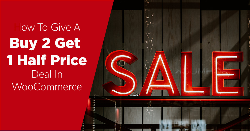 buy 2 get 1 half price