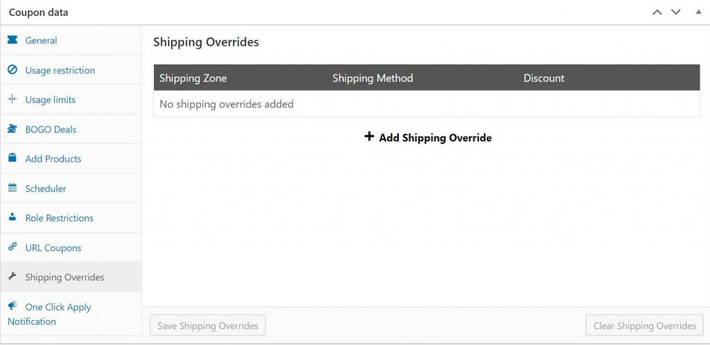 Use the shipping overrides feature to grant free shipping.