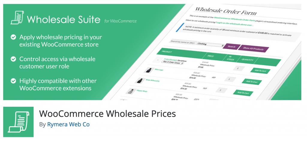 WooCommerce Wholesale