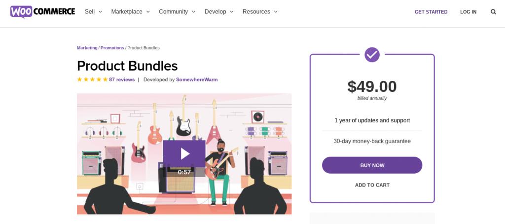 The WooCommerce Product Bundles premium extension.