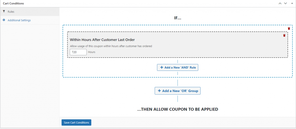 Setting a time limit before a coupon expires.
