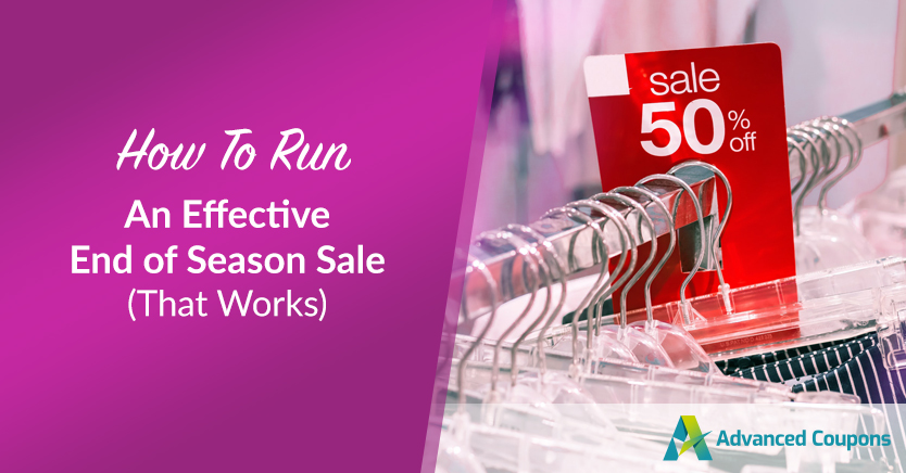 How to Run an Effective End of Season Sale (That Works)