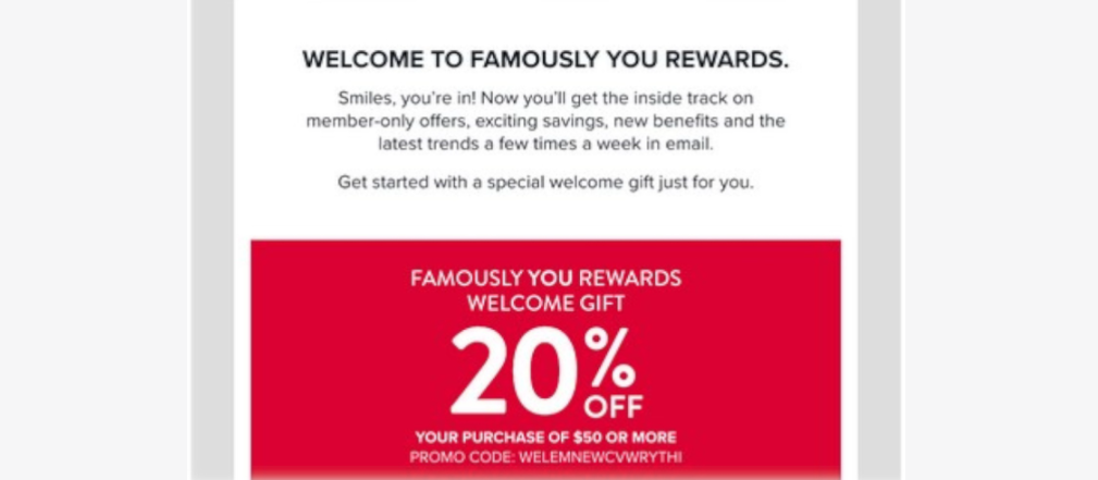 WooCommerce welcome coupon