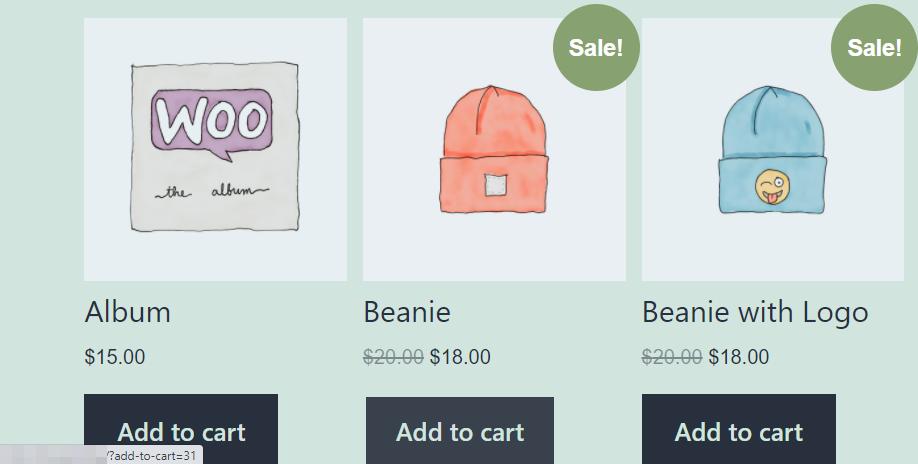 WooCommerce add to cart URL