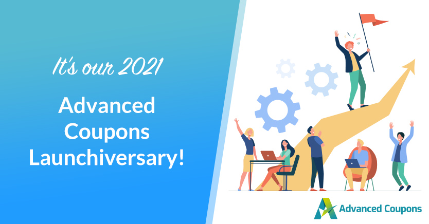 2021 Advanced Coupons Launchiversary