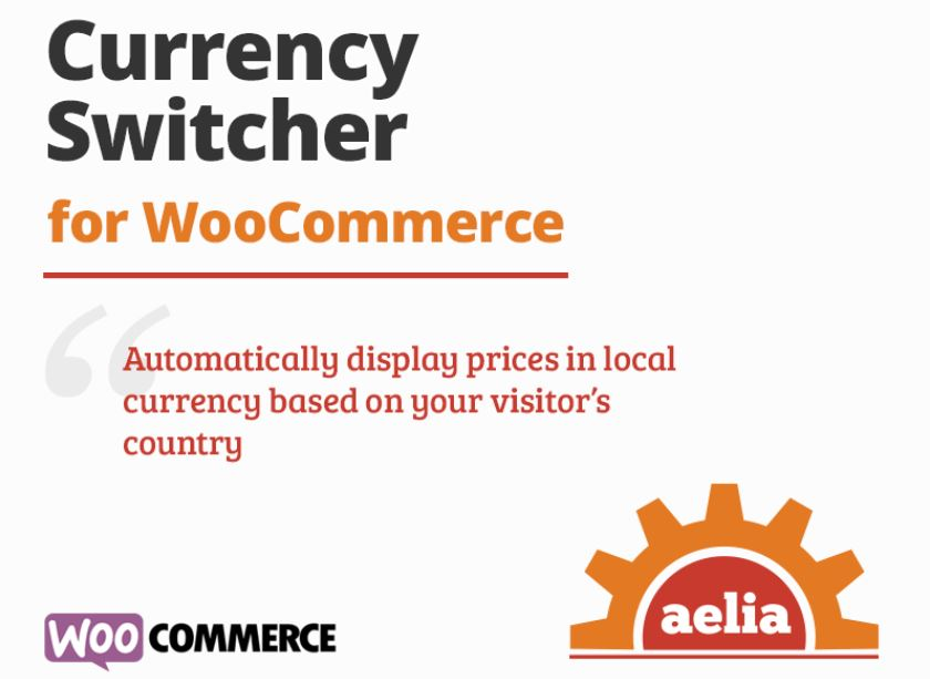 Aelia WooCommerce Currency Switcher enables you to display prices and accept currencies in different currencies.