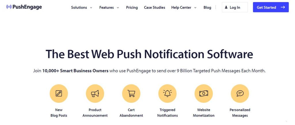 Sending targeted push notifications with PushEngage is one of the most effective sales promotion strategies for Black Friday.