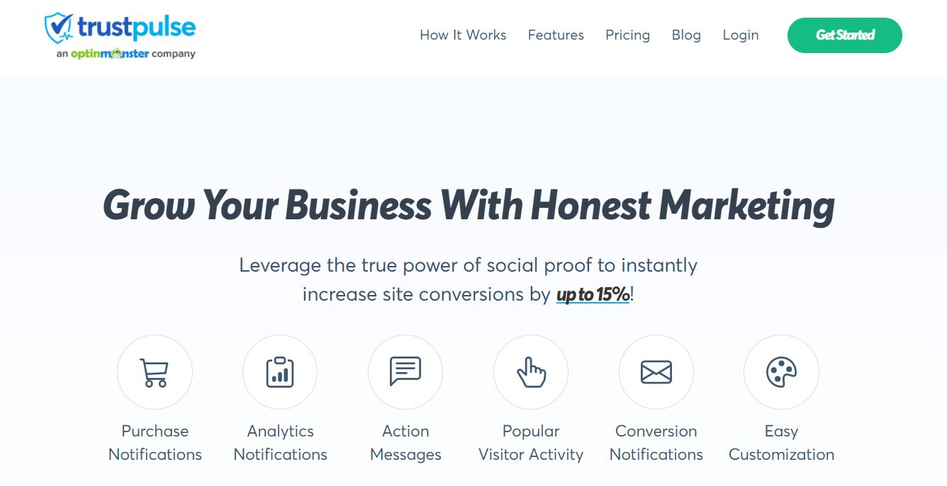 TrustPulse is an e-commerce plugin that helps you leverage the power of social proof.
