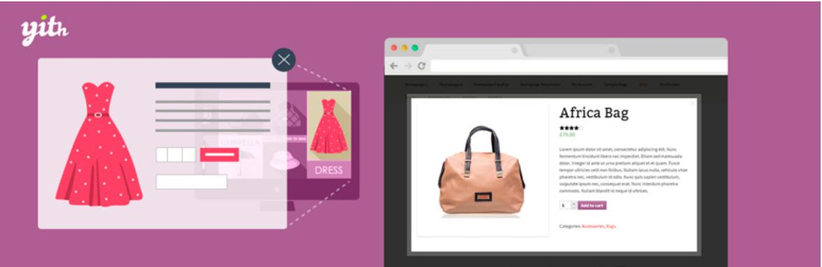 Yith enables you to display product images and descriptions more clearly.
