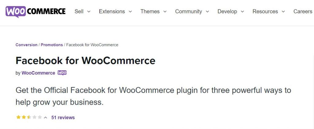 Facebook for WooCommerce is one of the most powerful WooCommerce marketing plugins