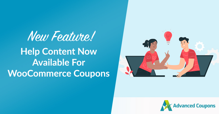 New Feature! Help Content Now Available For WooCommerce Coupons