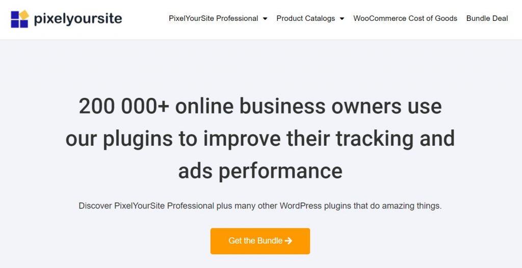 PixelYourSite homepage