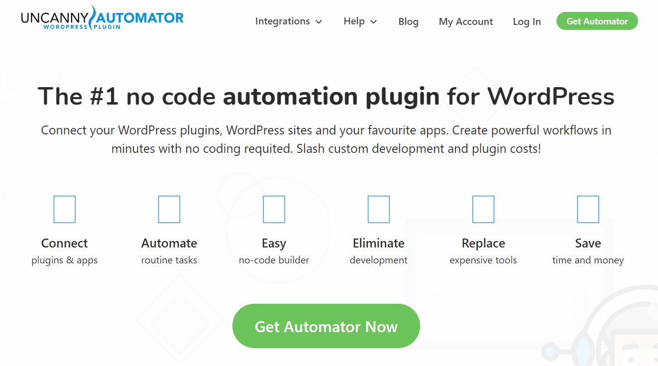 Uncanny Automator is one of the most powerful WooCommerce automation tools.
